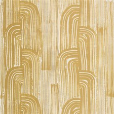 Gold/Ivory Modern Wallcovering by Groundworks