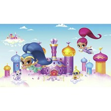 JL1385M Shimmer And Shine XL Mural by York