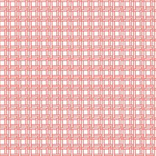Coral/White Check Wallcovering by York