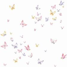 KI0526 Watercolor Butterflies by York