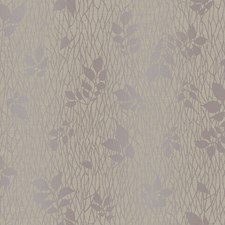Deep Taupe/Soft Amethyst/Silver Pearl Metallic Branches Wallcovering by York