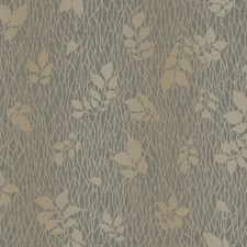 Charcoal Graphite Gray/Touch Of Gold Metallic Pearl Branches Wallcovering by York