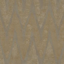 Beige/Taupe/Metallic Taupe Chevron Wallcovering by York