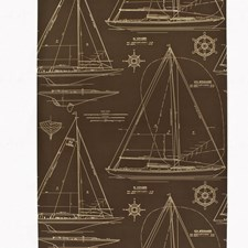 Mahogany Wallcovering by Ralph Lauren Wallpaper