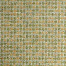 Green/Turquoise/Camel Contemporary Wallcovering by Kravet Wallpaper