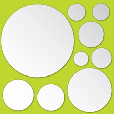 MA99230 Dots Mirror Art by Brewster