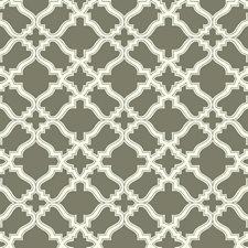 Taupe/Cream Geometrics Wallcovering by York