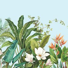 Tropical Blue Wallcovering by Scalamandre Wallpaper