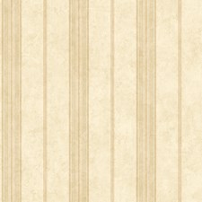 Sand/Soft Coral/Tan Stripes Wallcovering by York