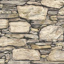 NU2065 Hadrian Stone Wall Peel & Stick by Brewster