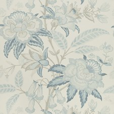 Frost Blue Botanical Wallcovering by Lee Jofa Wallpaper