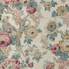 Ruby/Spice Botanical Wallcovering by Lee Jofa Wallpaper