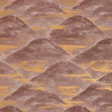 Terracotta Modern Wallcovering by Brunschwig & Fils