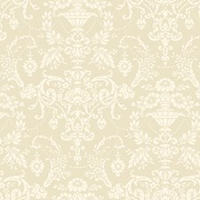 Pearly White/Matte White Wall Decor Wallcovering by York