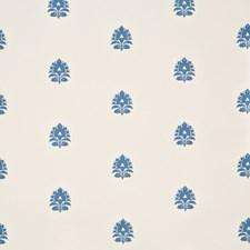 Blue Botanical Wallcovering by Baker Lifestyle Wallpaper