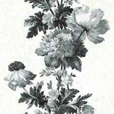 RMK11514RL Vintage Floral Stripe by York