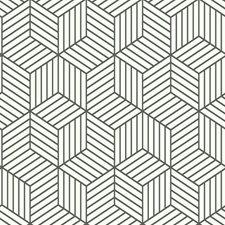 RMK11720WP Striped Hexagon by York
