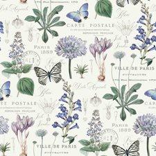 RMK11763RL Butterfly Botanical by York