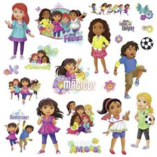 RMK2653SCS Dora And Friends by York