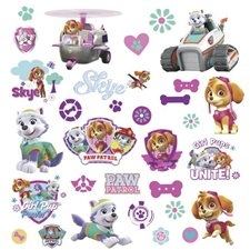 RMK3124SCS Paw Patrol Girl Pups Wall DCLS by York