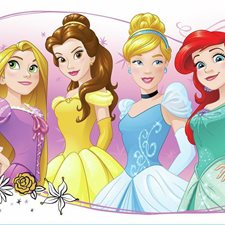 RMK3182GM Princess Friendship Advent Giant Wall Decal by York