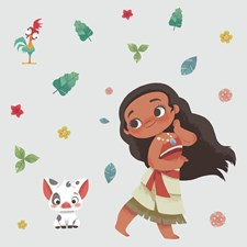 RMK4236GM Disney Vintage Moana Giant Decals by York