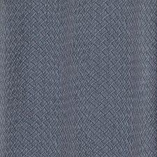 Luminous Deep Blue Stripes Wallcovering by York
