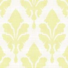 Cream/Pale Grey/Yellow Damask Wallcovering by York