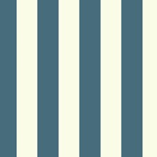 White/Dark Blue Stripes Wallcovering by York