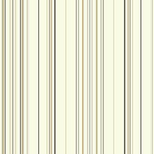 White/Grey/Black Stripes Wallcovering by York