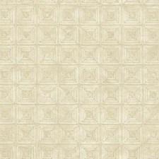 Cream/Grey/Tan Geometrics Wallcovering by York