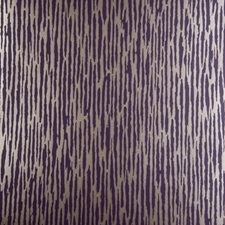 Damson Abstract Wallcovering by Clarke & Clarke