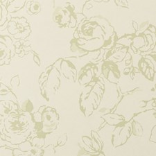 Sage Floral Large Wallcovering by Clarke & Clarke
