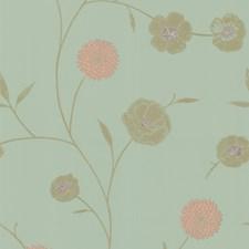 Light Green/Beige/Pink Wallcovering by Kravet Wallpaper