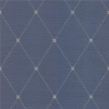 Blue/White/Beige Novelty Wallcovering by Kravet Wallpaper