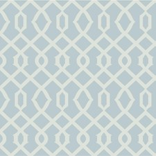 Light Blue/Gold/Metallic Lattice Wallcovering by Kravet Wallpaper