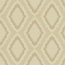 Ivory/Gold/Metallic Damask Wallcovering by Kravet Wallpaper