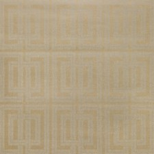 Gold/Ivory Geometric Wallcovering by Kravet Wallpaper