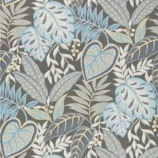 Denim Botanical Wallcovering by Kravet Wallpaper