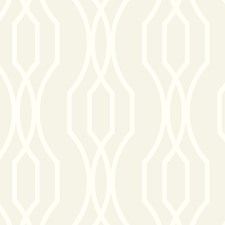 White/Metallic Modern Wallcovering by Kravet Wallpaper