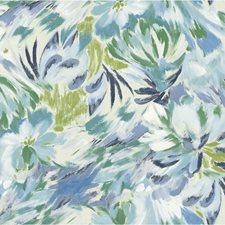 Blue/Green/Multi Botanical Wallcovering by Kravet Wallpaper