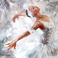 WALS0230 Ballerina Wall Mural by Brewster