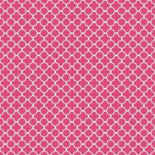 Hot Pink/White Small Prints Wallcovering by York