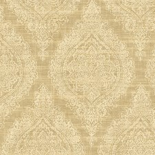Mid Gold Wallcovering by Scalamandre Wallpaper