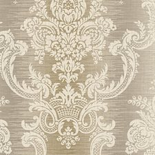Silver/Gold Wallcovering by Scalamandre Wallpaper