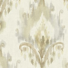 Neutral/Gold Wallcovering by Scalamandre Wallpaper