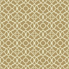 Gold Satin/Rich Cream Small Prints Wallcovering by York