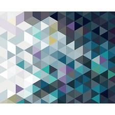 WR50526 Abstract Triangles Wall Mural by Brewster
