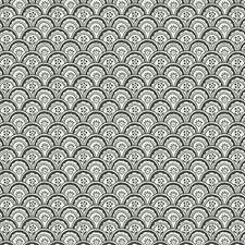 White/Black Wallcovering by Scalamandre Wallpaper