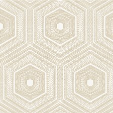 Champagne Modern Wallcovering by Winfield Thybony